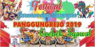 Festival Jaranan dan Barongan di Panggungrejo