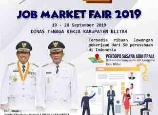 Job Market Fair oleh Disnaker dan Pemkab Blitar