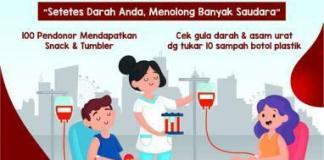 Donor darah di Desa Gogodeso