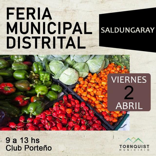 Feria Municipal Distrital
