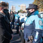 Axel Kicillof visitó esta mañana Bahía Blanca y entregó 40 nuevos patrulleros