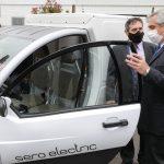 El Presidente visitó la planta de la empresa Toyota, y anunció el proyecto de Ley de Movilidad Sustentable