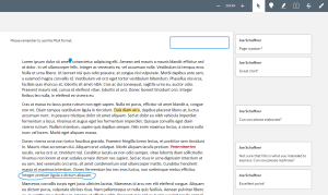 An example of DocViewer in SpeedGrader.