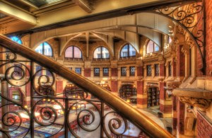 Fisher Fine Arts Library interior. Credit: University of Pennsylvania