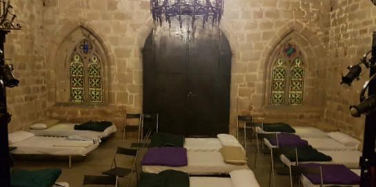 La Iglesia abre sus templos para acoger indigentes durante la ola de frío en España