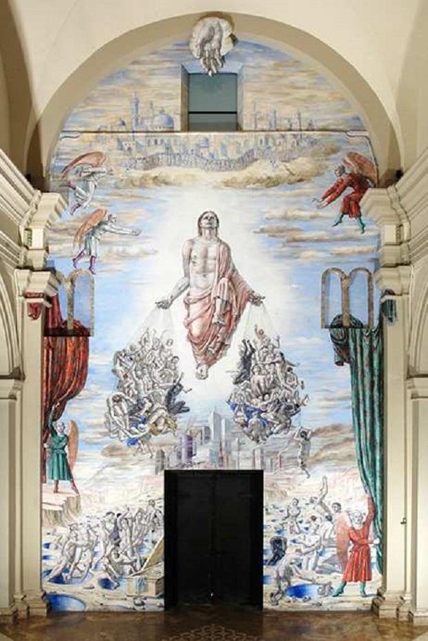 Mural blasfemo