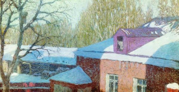Описание картины николая крымова «солнечный день ...