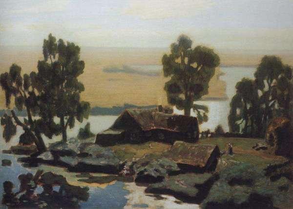 Описание картины николая крымова «полдень» - Описание картин