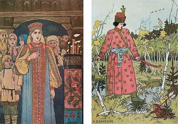 Иллюстрация к сказке «царевна-лягушка» работы ивана ...