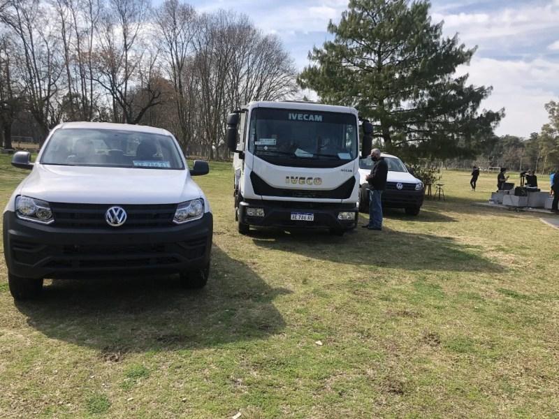 camionetas camion sergio massa wado de pedro parque municipal