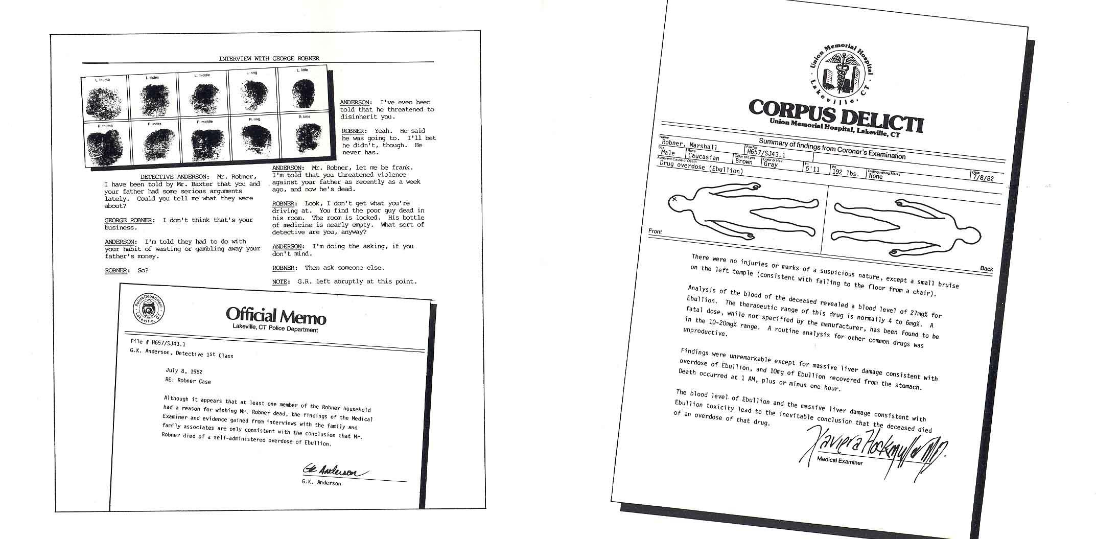 The Infocom Gallery Deadline Mastertronic