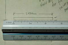Given The Scale Of A Technical Drawing Convert Any Distance To Its Actual Length Being Able To Accurately Measure Using A Scale Ruler Is An Important Skill When Working With Scaled Drawings Scale Drawings Are Used To Communicate The Dimensions Of A Full