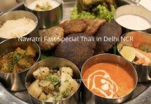 Special Place for Navratri Fast Thali/Vrat Ka Khana in Delhi NCR