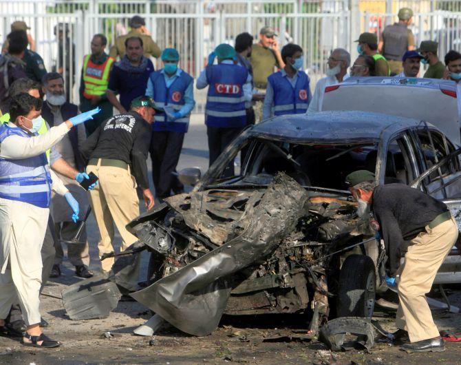Suicide Blast Near CM Residence in Pakistan's Lahore, 26 Dead 57 Injured