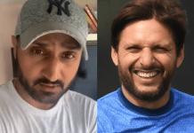 Shahid Afridi should stay in his limits: Harbhajan Singh