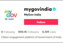 Govt of India Joined TikTok between Boycott Chinese Apps Movement