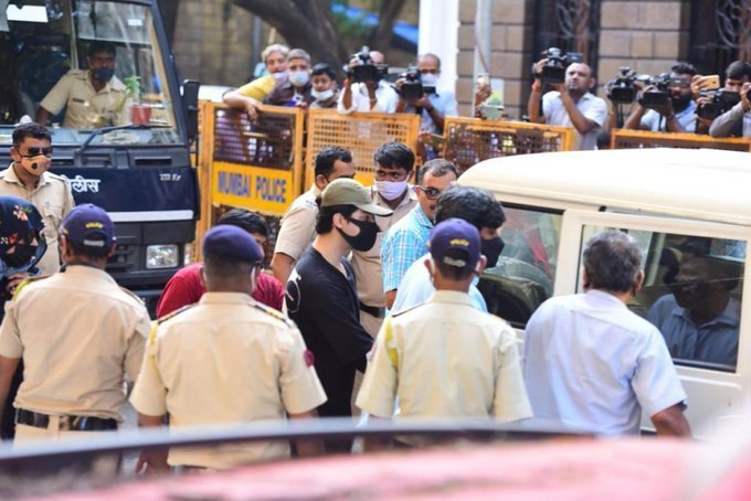 Shahrukh Khan Son Aryan Khan Arrested by NCB in Drug Case