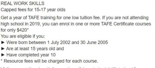 Go To Tafe Now 15 17 Year Olds In Focus Careers Resources Hub