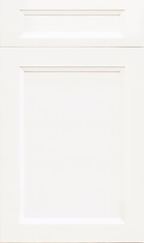 Bellrose Simply White Transitional Kitchen Cabinet