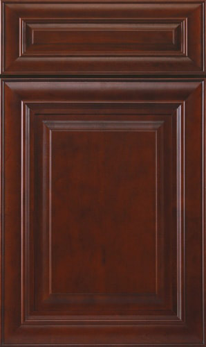 Mahogany Cherry Raised Panel Kitchen Cabinets