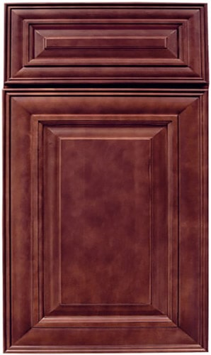 Sedona Cherry Raised Panel Kitchen Cabinet