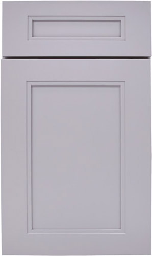 Sterling White Transitional Kitchen Cabinet