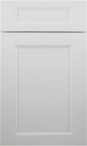 Wellington Uptown White Raised Panel Kitchen Cabinet
