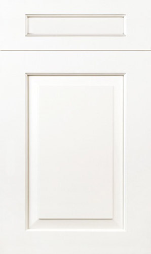 New Haven Simply White Raised Panel Kitchen Cabinets