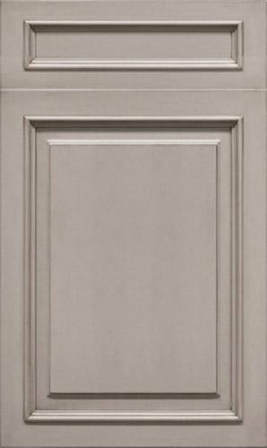 Wellington Graystone Raised Panel Kitchen Cabinet