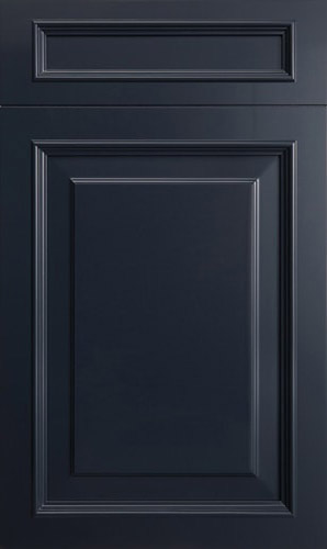 Wellington Midnight Blue Raised Panel Kitchen Cabinet