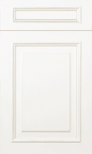Wellington Simply White Raised Panel Kitchen Cabinet