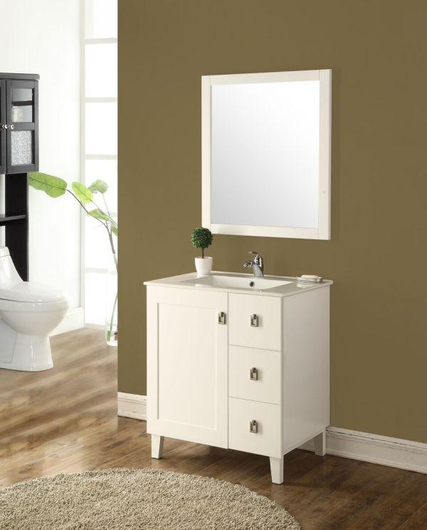 Elan 30′ White with Matching Mirror