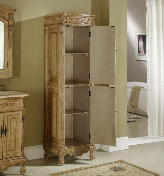Tuscany 21 Quot Linen Cabinet Tan Kitchen Amp Bathroom