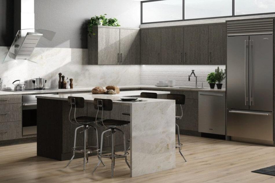 Maxtrix Silver Kitchen Style