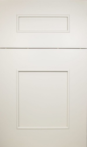 Fairfield White Raised Panel Kitchen Cabinet