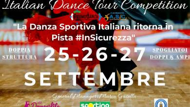 Photo of Italian Dance Tour Competition 25/26/27 Settembre 2020