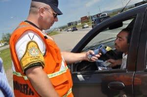 Control de alcoholemia de Policia Caminera