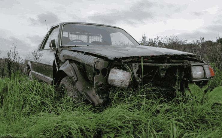 Autos abandonados en Cordoba