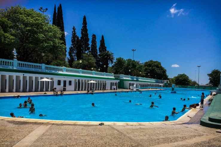 Piletas Municipales en Cordoba Capital: Parque Sarmiento