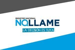 Registro Nacional NO LLAME