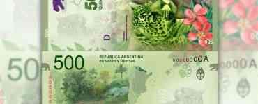 billete de 500 pesos, argentina