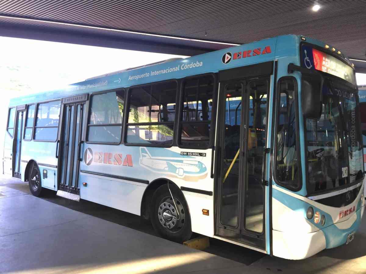 AeroBus, colectivos especiales desde la terminal de Ómnibus al Aeropuerto