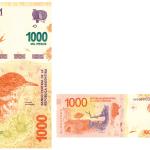 Nuevo billete de $1000