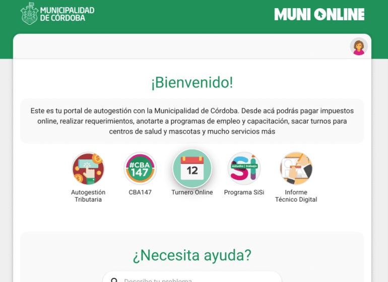 turnos online muni
