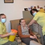 Eerste vaccins in woonzorgcentrum Heilige Familie