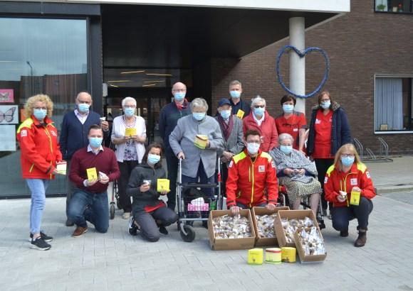 Paasattentie van Rode Kruis voor woonzorgcentrum