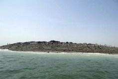 El sismo en Pakistán creó una nueva isla de 30 metros de ancho