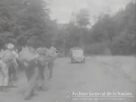 Mochileros en San Carlos de Bariloche, 1959