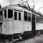 Un modelo de vagón con el que se inauguró la Línea A, Primera Junta - Plaza Miserere; agosto de 1974