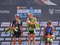 Tigre vivió una nueva edición del triatlón IronMan 70.3